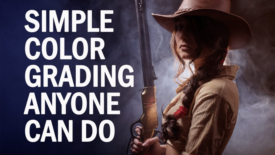 Simple Color Grading in Photoshop and Lightroom
