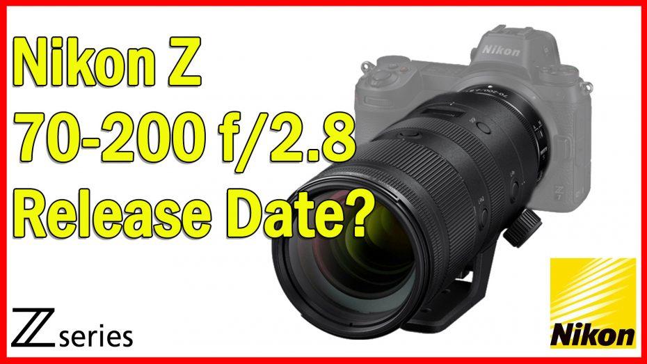 Nikon Z 70-200 f 2.8