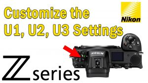 Nikon Z User Presets