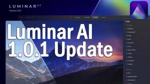 Luminar AI 1.0.1 Update