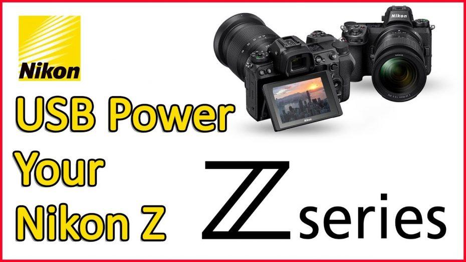 Nikon Z using USB-C